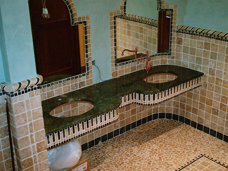 Bagno Con Ciottoli: Bagno con ciottoli tappeto memory lattice morbido antiscivolo.